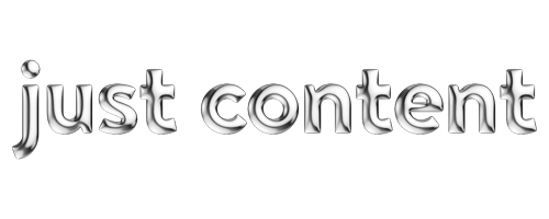 Logo for Just Content